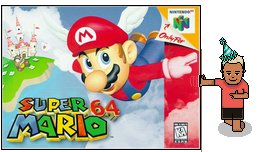 06/23/1996, Japan, Super Mario 64 20th Anniversary
